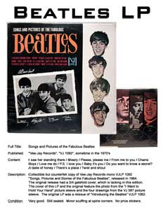 Silent Auction: Songs and Pictures of the Fabulous Beatles