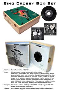 Silent Auction: Bing Crosby box set