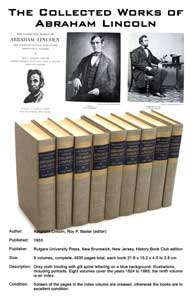 Silent Auction: The Collected Works of Abraham Lincoln
