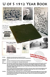 Silent Auction: U of S 1912 Year Book